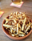 [The Guild] - Salt & Vinegar Fries ($8) is a very down-to-earth starter which was wiped out in minutes.