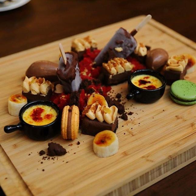 [House of MU] - Dessert Platter ($46).