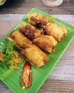 [SG Pho House] - Seafood Spring Rolls ($4.90).