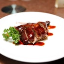 [Blossom] - The must try at Blossom Restaurant is their Royal Secret Recipe Smoke Duck ($40 half / $80 Whole).