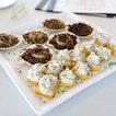 [Zafferano] - Gratinated Hokkaido Scallop and Polenta Maize Flour Cake with Cream Codfish.