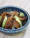 [Kogane Yama] - The all-time favourite Japanese eel makes its first appearance on the menu in the form of a Unagi Avocado Don ($14.90).