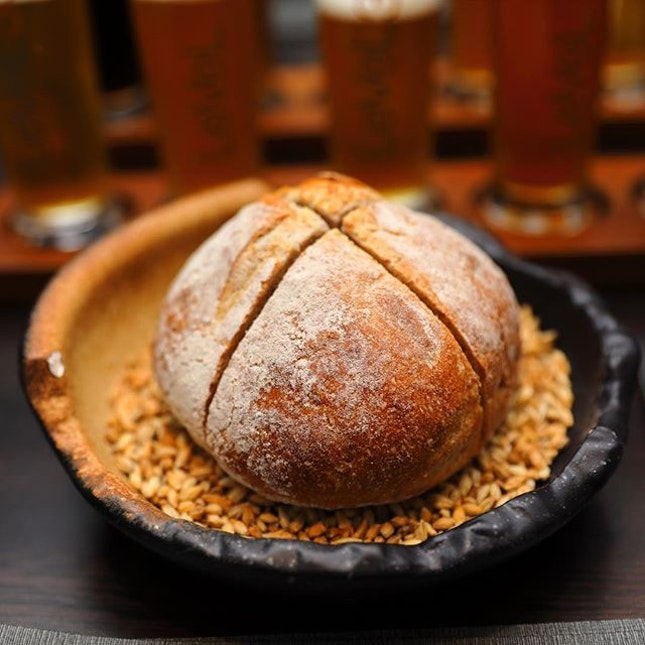 [LeVeL33] - Sourdough that is made from the beer malt that is used to brew their beer.