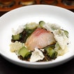 [LeVeL33] - The Kingfish Sashimi ($26) is a light but flavourful dish on the menu.
