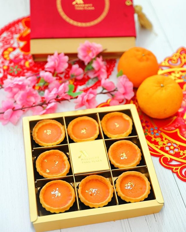 [Giveaway] - Stand a chance to win a box of @singaporemarriott Green Tea Nian Gao Tart.