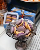 [Antoinette] - Purplelette macarons ($3 per piece / $19 for 6 pieces).