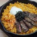 [The Marmalade Pantry] - The Kimchi Fried Rice ($26) features a Korean-inspired take on the donburi, topped with tender sous vide steak and egg, bringing together different new flavours and textures.