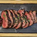 [Opus Bar & Grill] - New Zealand Roasted Tenderloin Steak ($62) which boasts an incredibly tender texture that just melts in the mouth.