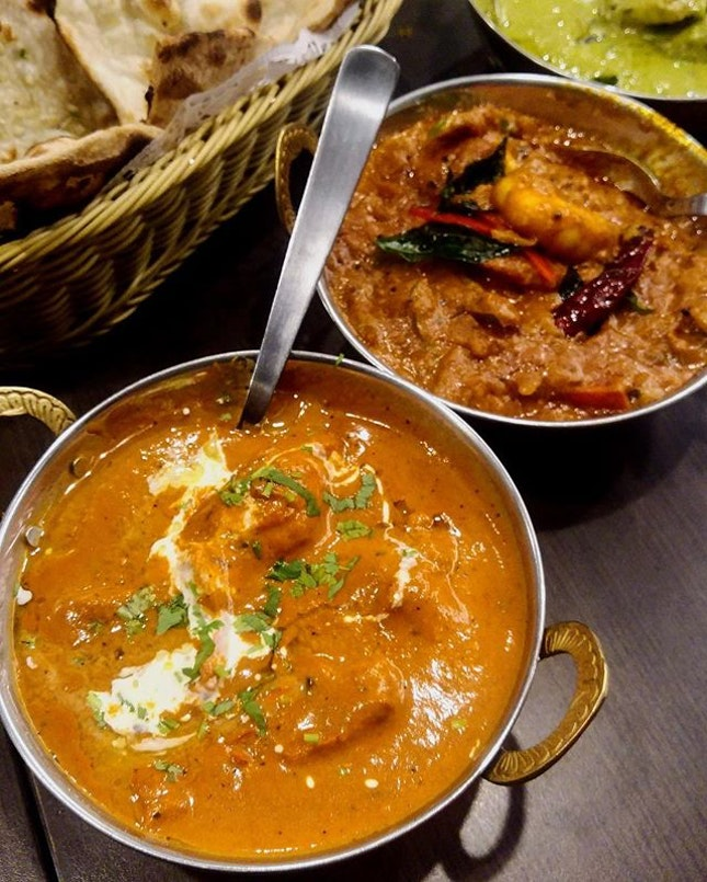 [Indian Express] - Butter Chicken ($14).
