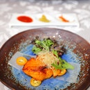 [Hai Tien Lo] - Baked Silver Sea Perch Fillet with Kumquat Chilli Sauce.