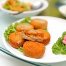 [Diamond Kitchen] - These Homemade Yam Balls with Otah ($16) is an interesting take on familiar flavours.