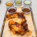 [Chico Loco] - Spit Roasted Chicken (Quarter $9/Half $17/Whole $32).