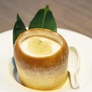 [Jiang-Nan Chun] - Chilled Coconut Pudding with Bird's Nest.