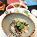 [Si Chuan Dou Hua] - Poached Japanese Pearl Rice with Taiwanese Oolong Tea and Matsutake.