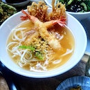 [The Refinery] - The seasonal special of the month is Cold Dip Tom Yum Udon ($16).