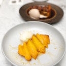 [El Mero Mero] - The Braised Pineapple ($14) is the simplest of all the desserts, turned out to be my favourite.