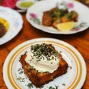 [Artichoke] - The Housemade Hashbrown ($14) topped with sour cream, and fresh za'atar (wild thyme in Middle East) is probably the best hashbrown I ever have eaten.