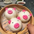 [Teochew Paradise] - Cute piggy buns.