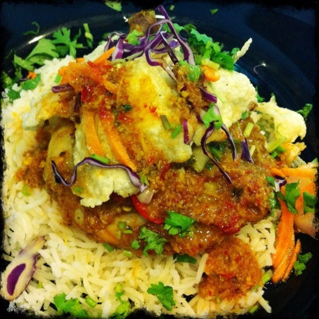 Curry Chicken With Butter Rice