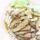 Roasted Pork & Char Siew Rice
