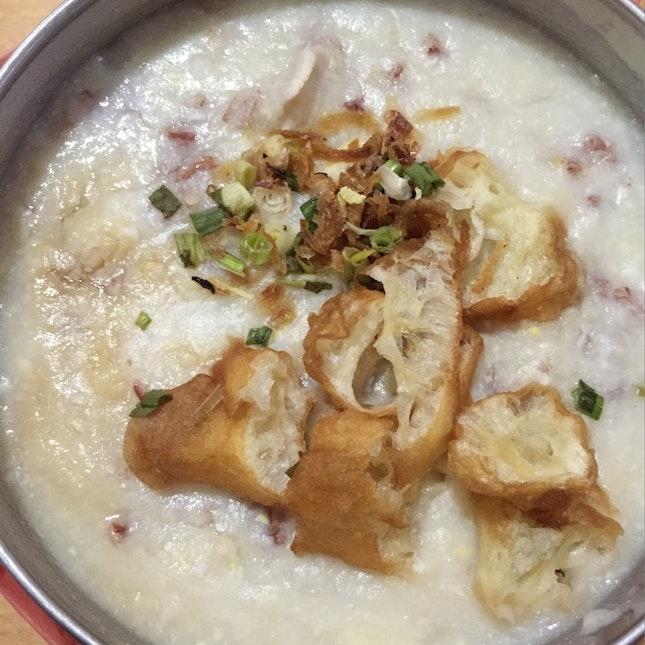 Minced Meat Porridge
