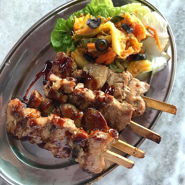 These Grilled Pork Skewers ($9.90)