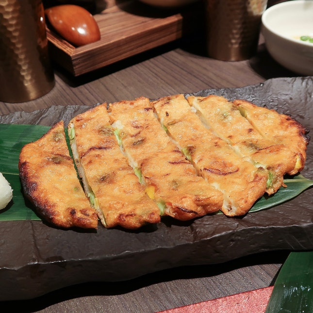 Charcoal Grilled Homemade Fish Cake ($10.90)