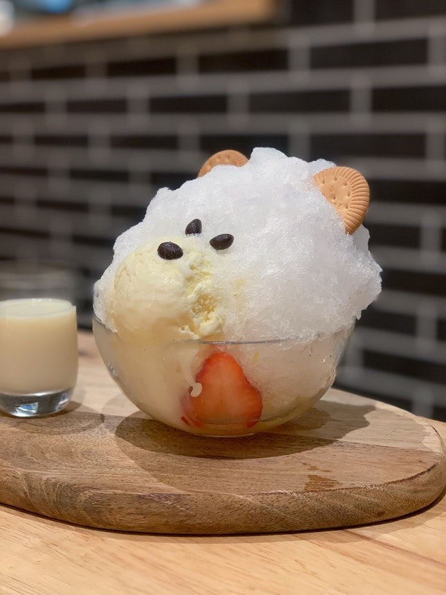 Hokkaido BIEI Jersey Milk Shaved Ice