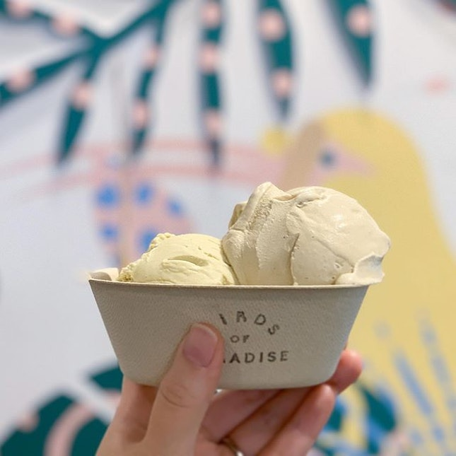 All time favourite Pistachio, and we switched it up today with Earl Grey & Lemongrass.
