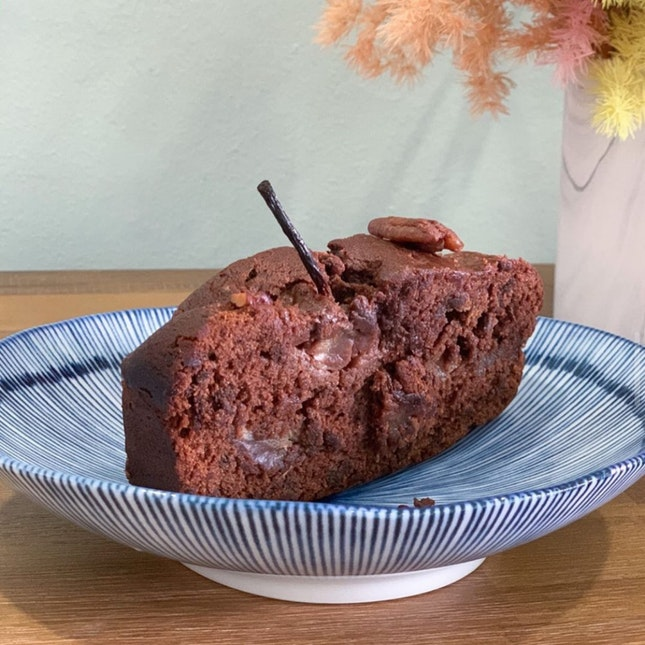 Spiced Pear Chocolate Loaf