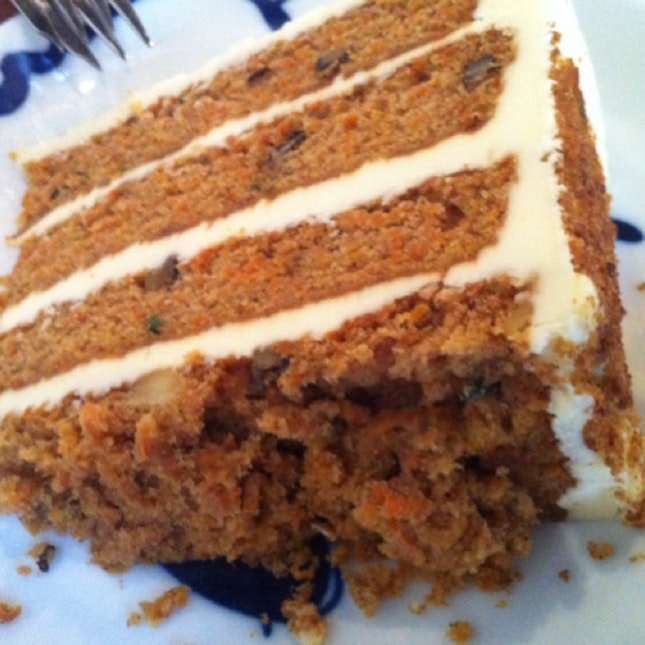 Just found out Carrot Cake really has carrots in it. Duh.