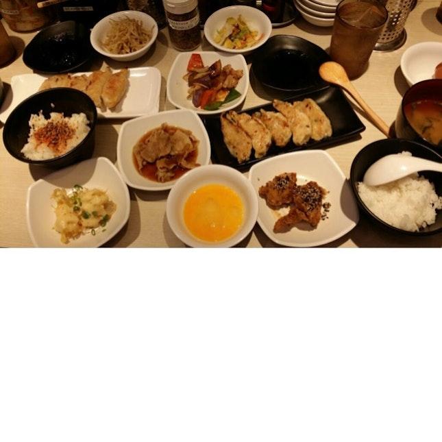 Gyoza Set Meal