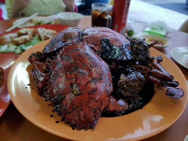 Signature Black Pepper Crab