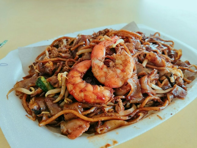 Black Fried Kway Teow ($8)