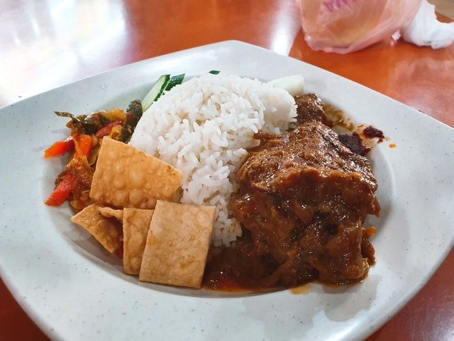 Chicken Rendang ($5)