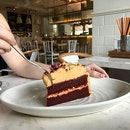 Salted caramel red velvet cake - perfect combination!!