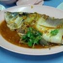 Steam fish head #foodporn #foodspotting #fish