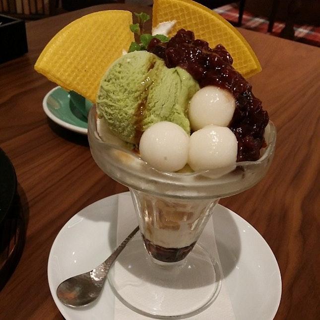 #Green #tea #matcha #parfait
