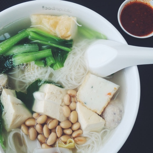 Yong Tau Foo Soup By Poh Peng Ric Burpple