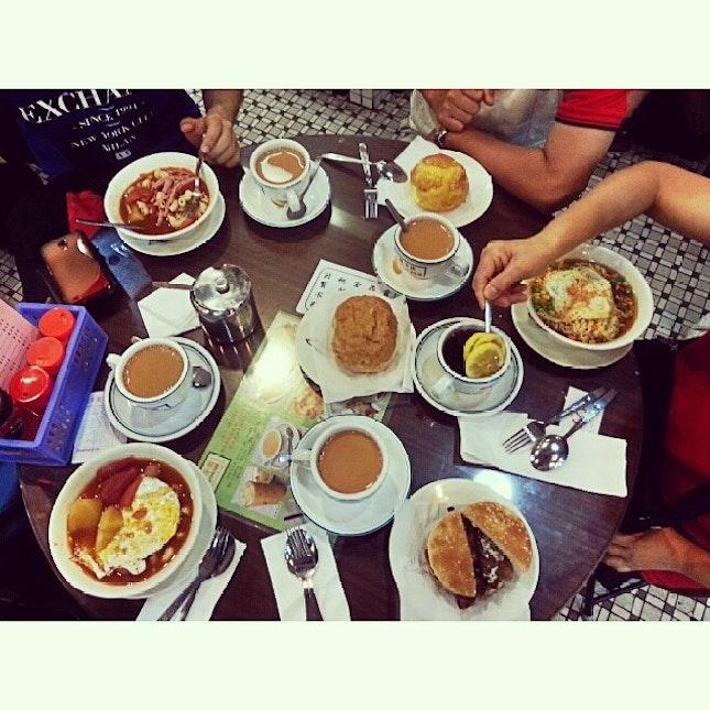 #hongkong #breakfast #ektravelog #foodporn #lanfongyuen