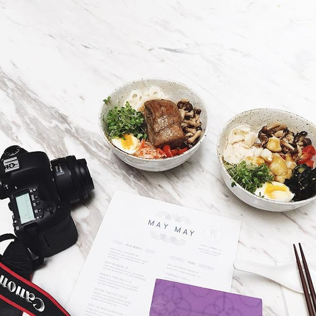 new york trip planning over healthy japanese lunch bowls✌🏻️#foodporn #marbleluvin'