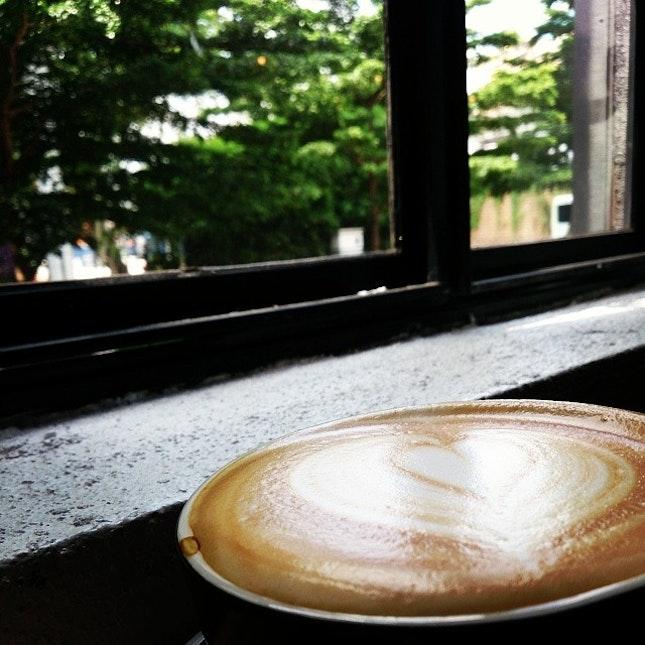 #caffeine day #cafe #klcafe #cafelatte  #creamy * #thumbup ^^