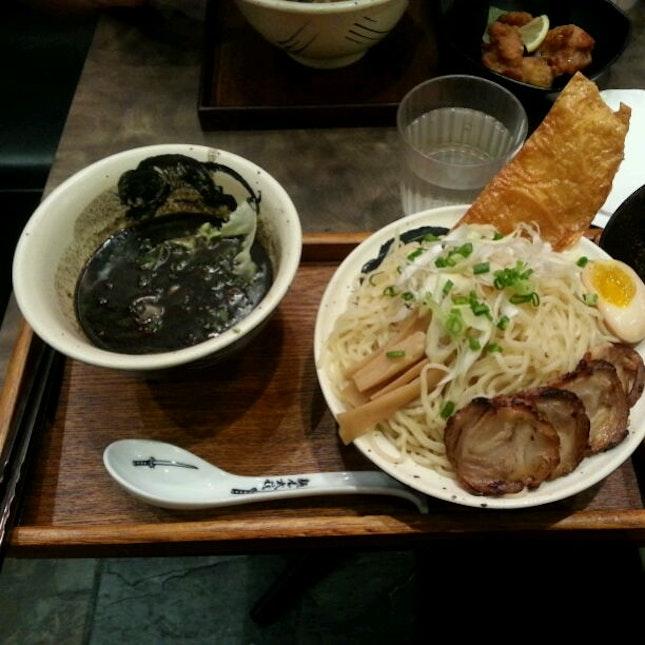 Tsukemen W/ Black Soup