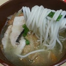 Twin Fish Thick Bee Hoon Soup