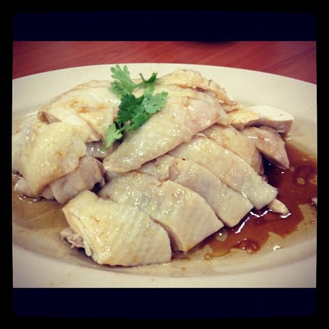 白斬雞 Chicken rice