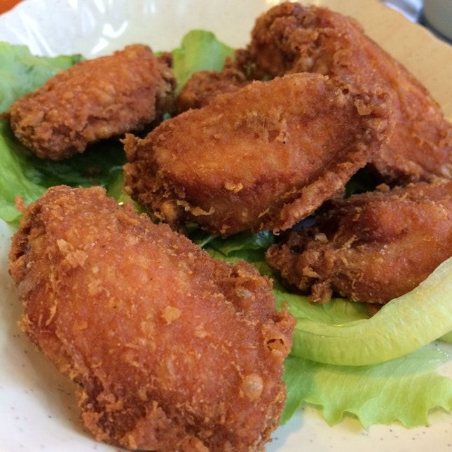 Prawn Paste Fried Chicken