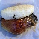 Saba Fish Rice Burger