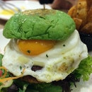 Singapore's very first line of build-your-own coloured burgers, in wonderful hues of green, yellow, pink and black.