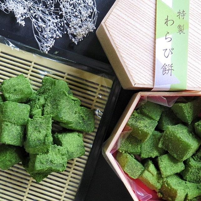 Matcha Warabimochi $12/Box