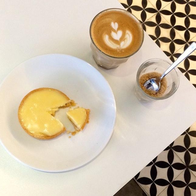 Impromptu midweek coffee break at Flock Ghim Moh.